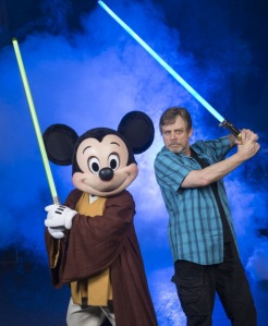 Mark Hamill Visits Walt Disney World For Star Wars Weekends 2014