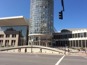 Salt Palace Convention Center before Salt Lake Comic Con 2014  (Photo: Heather Maloney)