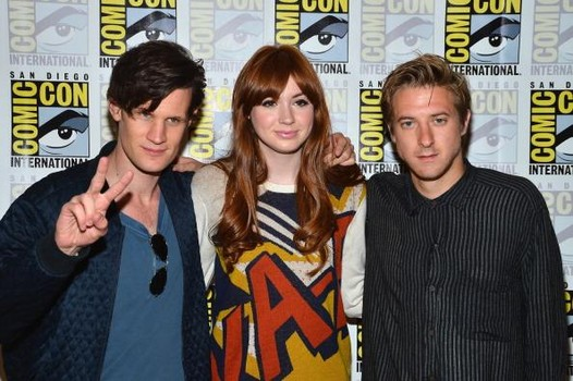 """Dr. Who"" - Press Line - Comic-Con International 2012"