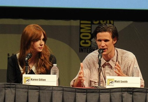 """Dr. Who"" Panel - Comic-Con 2011"